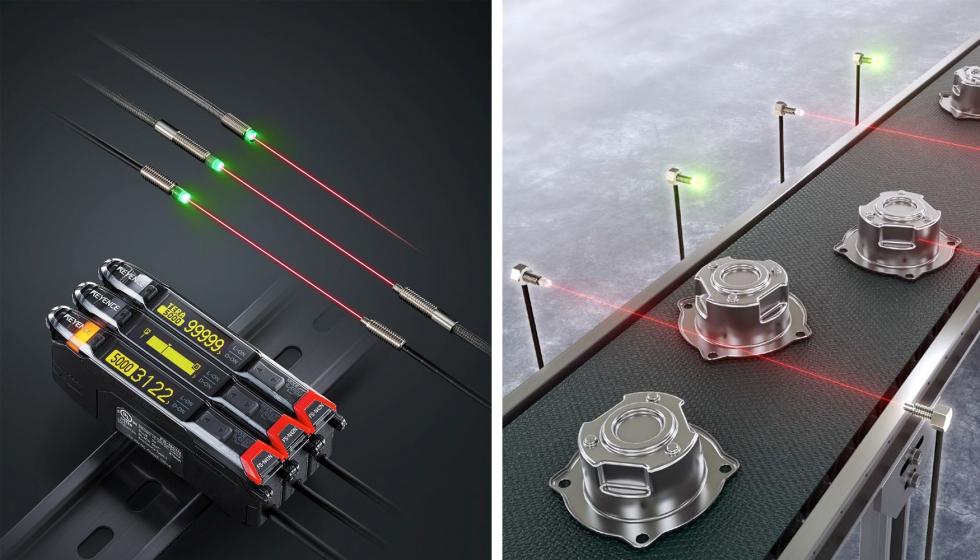 """Keyence lanza un nuevo sensor digital de fibra óptica """"más potente y fácil de utilizar"""""""