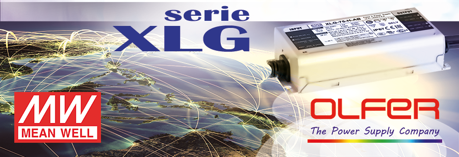LED Driver regulable serie XLG de potencia constante