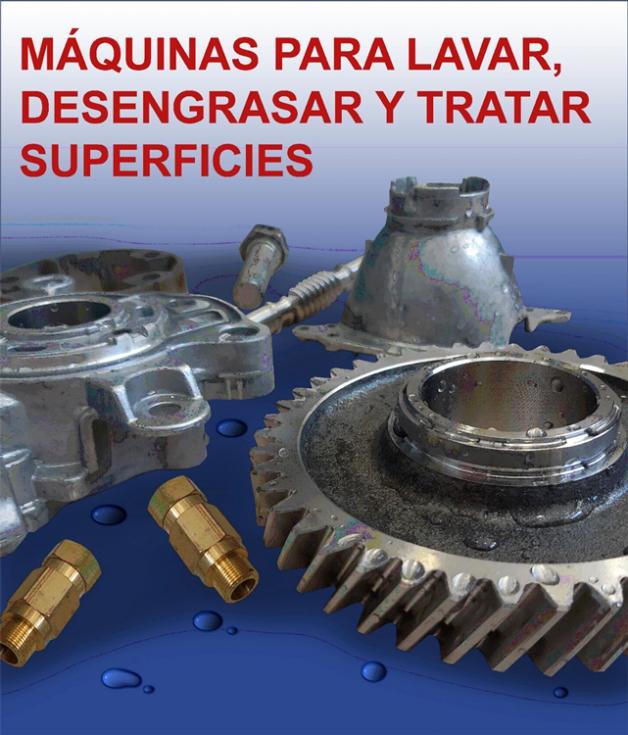 Cómo desengrasar, lavar o limpiar eficazmente todo tipo de piezas y componentes industriales