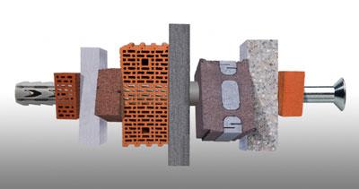 Fischer ofrece gran sujeci n para todos los materiales de construcci n construcci n - Cheville pour brique creuse ...