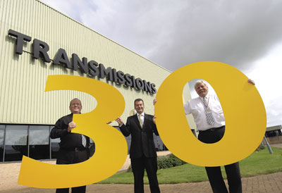 The factory of engines JCB Transmissions celebrates 30 years