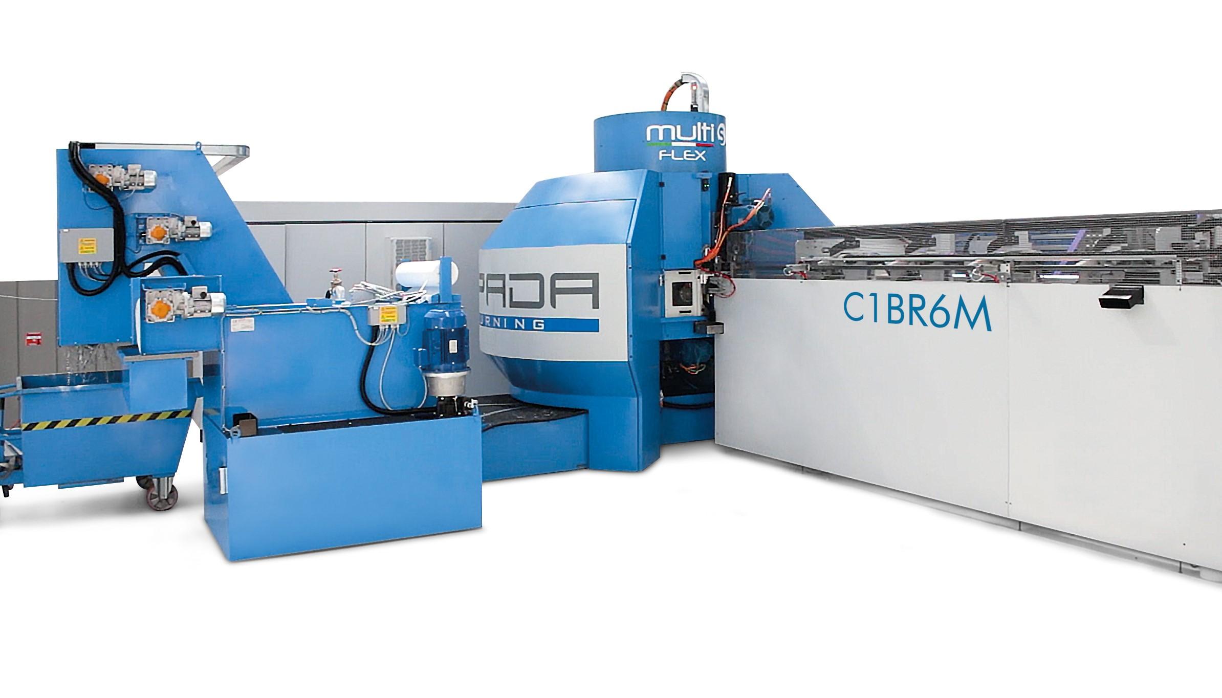 Máquina especial MULTI S FLEX para altas producciones