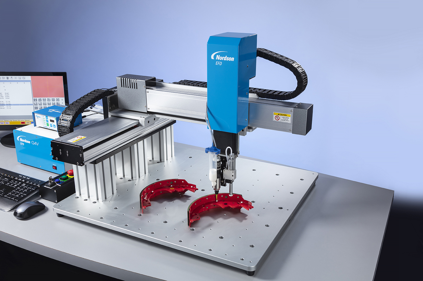Dispensador de alta precisión Ultimus™ V con adaptador Optimeter