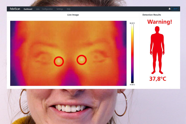 Sistema automatizado de detección de fiebre para control de accesos