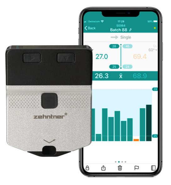 Brillómetro minicabezal ZG8000 de Zehntner