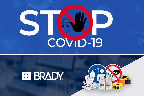 Señales gratuitas para instalaciones para ayudar a detener el COVID-19