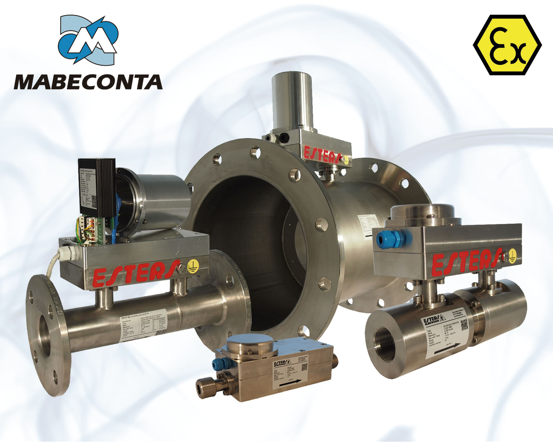 Medidores de gas GD 300 Y GD 500 Ex para medición de gases técnicos y médicos desde DN 15 hasta DN 400
