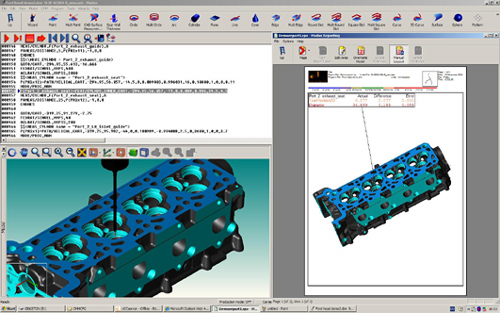 The new Modus for Renishaw MMC software includes 5-axis