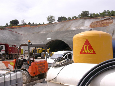 Sika display their solutions for construction and civil