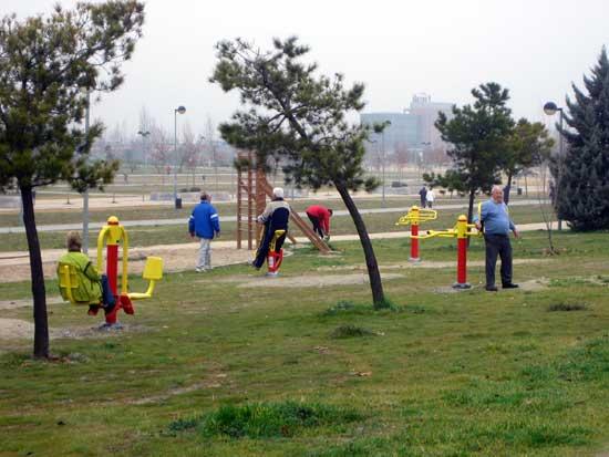 Nuevos Parques Ludicos Diversion Sofisticada Equipamiento Urbano