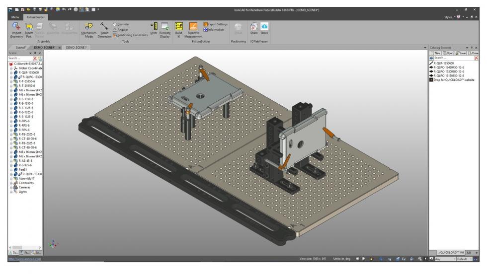 Renishaw actualiza su software de modelado 3D FixtureBuilder