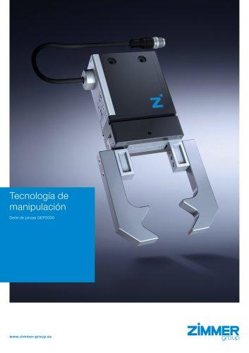 Pinza eléctrica compacta con fuerza ajustable GEP2000
