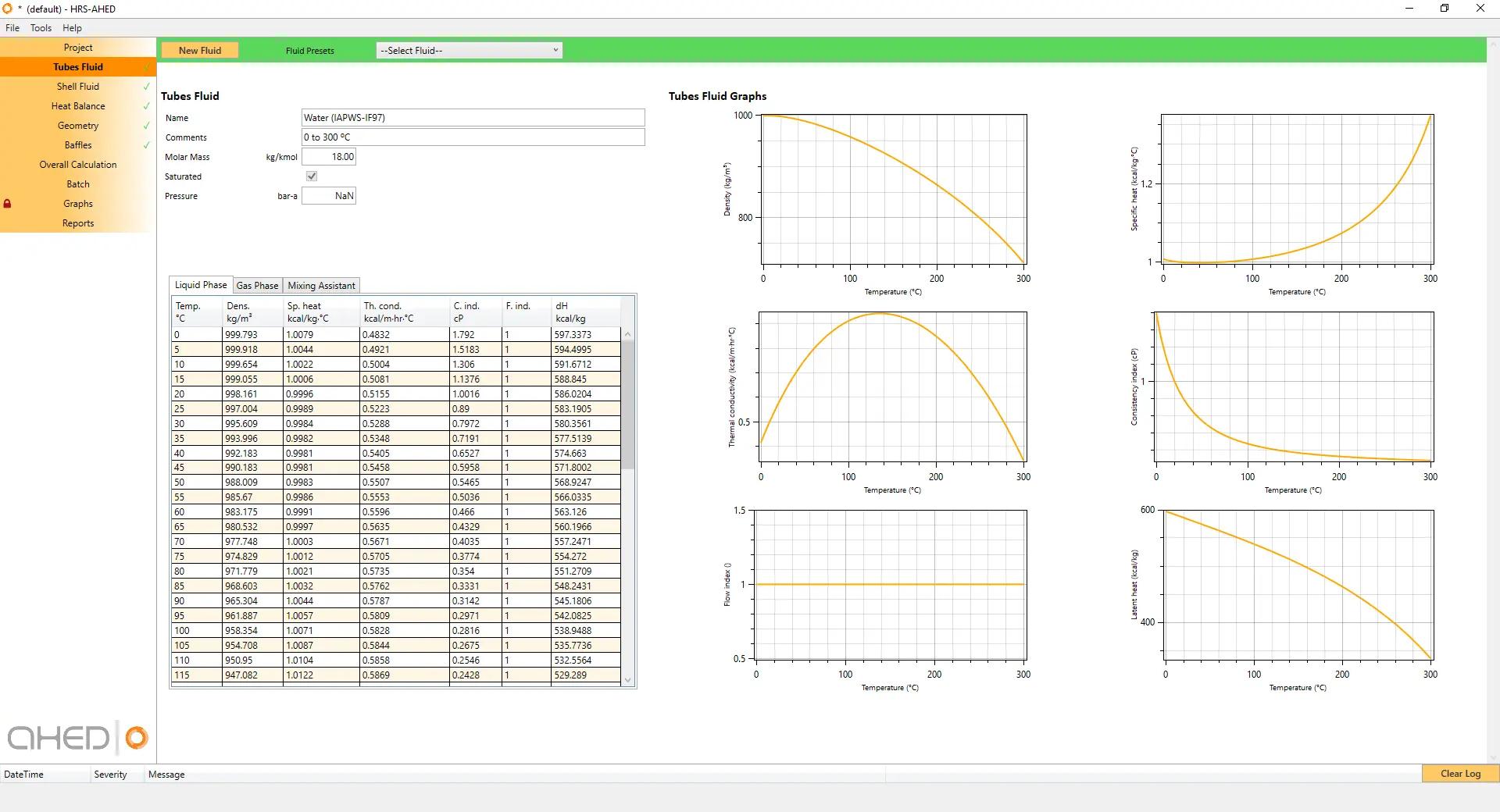 Software de diseño de intercambiadores de calor