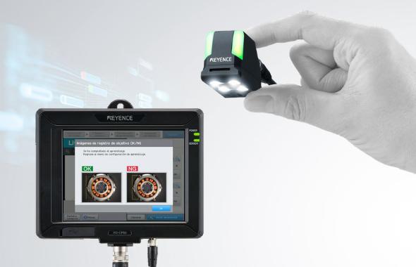 Sensor de visión con Inteligencia Artificial