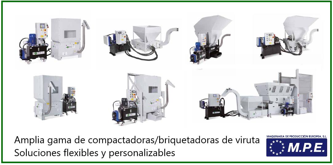 Compactadoras Briquetadoras de viruta
