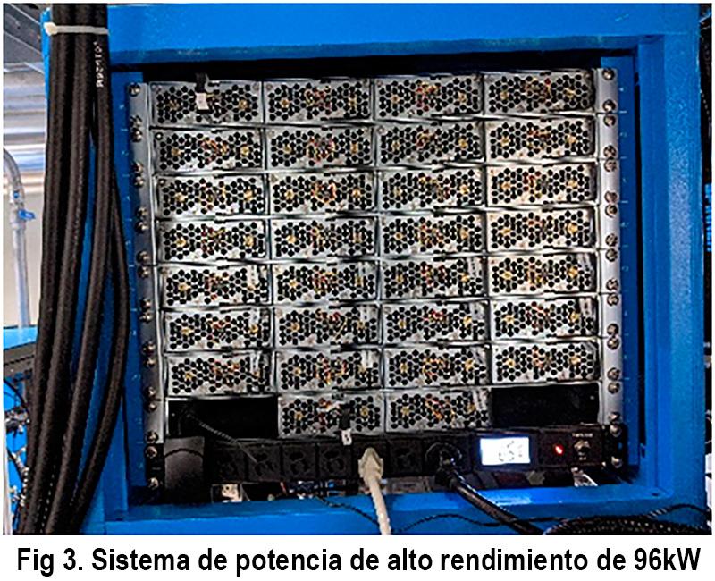 Sistema de suministro de energía de gran potencia para las instalaciones de fuente de luz sincrotrón