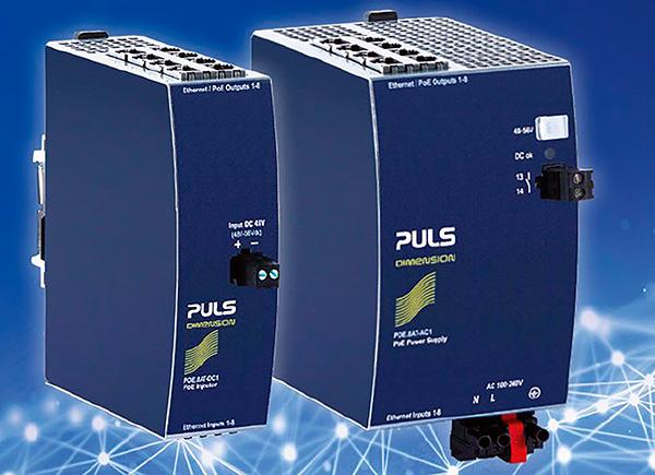 Inyectores PoE + de 4 y 8 canales PULS