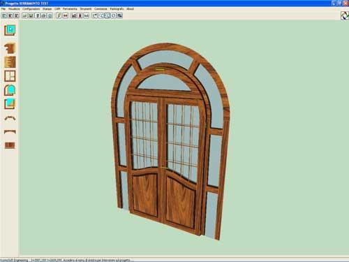 Archimede: diseño rápido de puertas y ventanas - Madera
