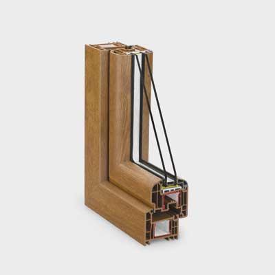 Las ventanas de pvc el futuro en el sector de los for Ventanas de pvc tipo madera
