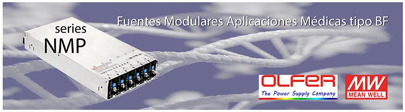 Serie NMP: Fuente médica modular e inteligente