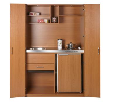Minicocinas al gusto del consumidor oficinas y centros for Modelos de muebles de cocina para espacios pequenos