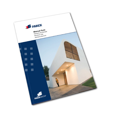 Parex presents its new 'Manual Guide' - Architecture and