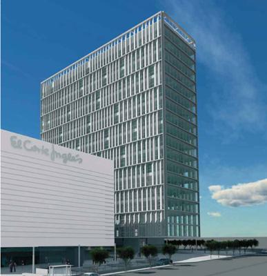 Sece alquila m de oficinas en el edificio meridian for Oficinas de allianz en madrid