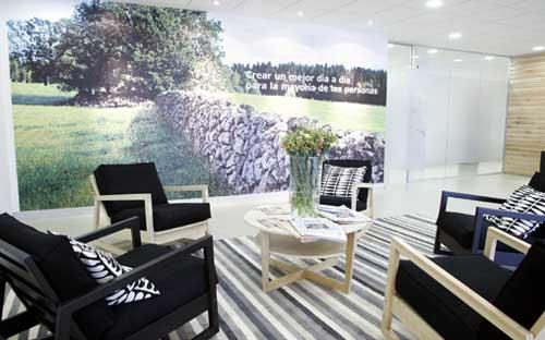 Oficinas seg n el concepto ikea oficinas y centros de for Ikea oficinas centrales