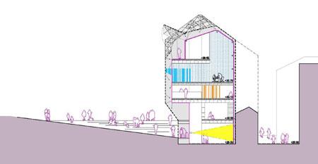 Termina la obra de la sede del colegio de arquitectos de galicia en vigo construcci n - Arquitectos en vigo ...