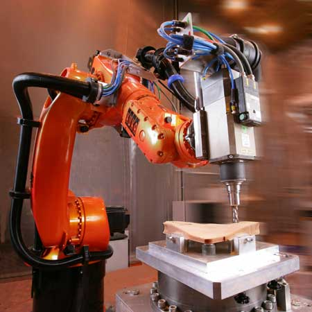 With Kuka Robots, it is possible to reach very high - Automation