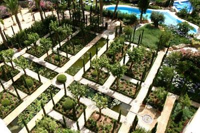 El jard n de al andalus herencia persa jardiner a for Jardin hispano mauresque