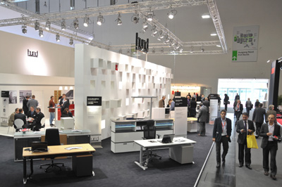 The protagonist in Orgatec 2010 Welfare Office -
