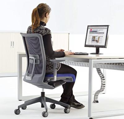 Rea tem tica mobiliario de oficina for Sillas ergonomicas para ordenador