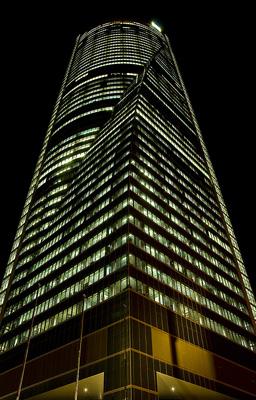 Torre espacio primer edificio que logra el nuevo for Dhl madrid oficinas