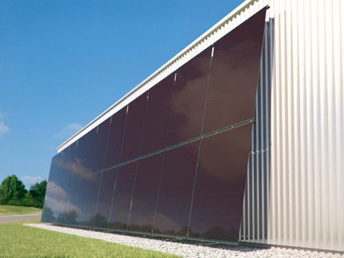 Rentabilizar toda la superficie de la nave mediante fachadas solares log stica almacenaje y - Naves industriales de diseno ...