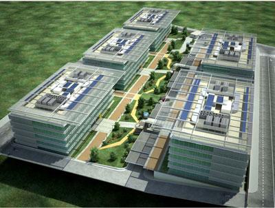 Dos nuevos edificios dan m m s en v a norte for Oficinas de dhl en madrid