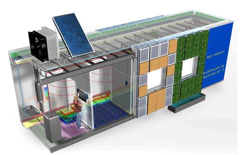 Paneles 39 high tech 39 para fachadas en s ndwich de poli ster for High tech arquitectura