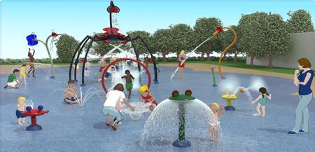 Isaba instalar en c rdoba un parque de agua nico en for Piscinas municipales palma