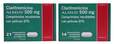Claritromicina Almus 500 Mg Efg Nuevo Antibiotico De Almus