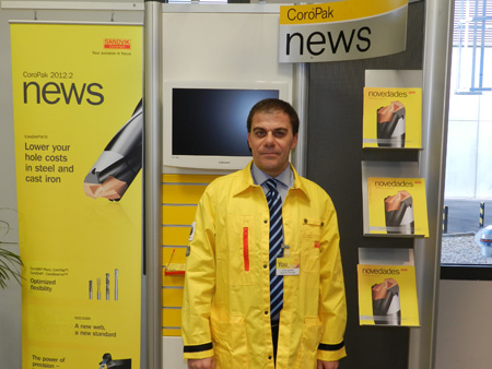 Interview to Jordi Castellet, general director of Sandvik Coromant