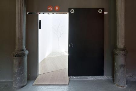 las puertas correderas, una opción para diseñar itinerarios ... - Puertas De Bano Para Discapacitados