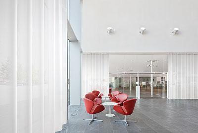 Vescom lanza tres telas para cortinas transparentes y for Cortinas transparentes
