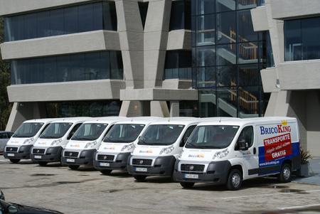 Bricoking amplía su servicio de transporte gratuito - Ferretería