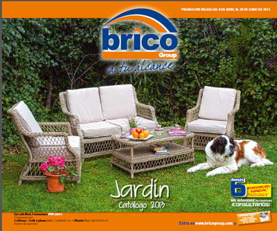 Bricogroup edita su cat logo jard n 2013 ferreter a for Ferreteria jardin