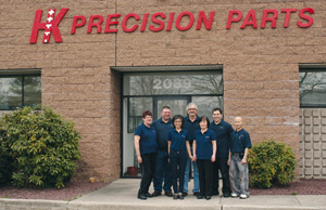 HK Precision Parts: Swiss quality, made in USES -