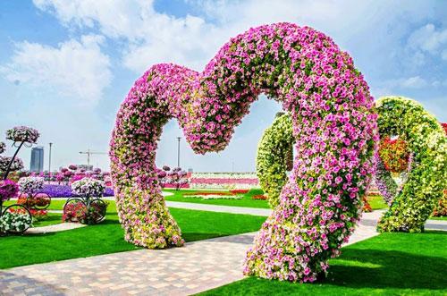 Dubai Un Jardin En Pleno Desierto Jardineria - Arcos-de-jardin