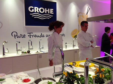 Grohe live center abre oficialmente sus puertas for Showroom grohe barcelona