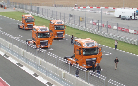 DAF XF Euro 6 presents in the national market - Industrial