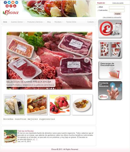 Ehosa distribuidor de productos alimenticios para for Espejo hostelero