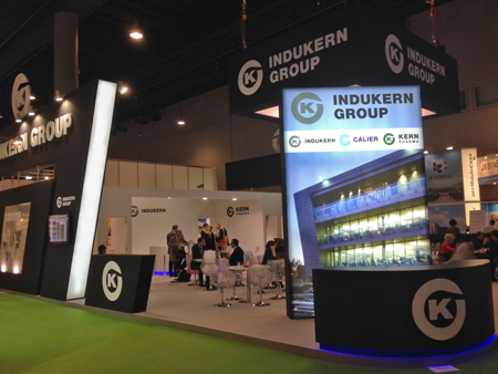 The Group Indukern, present in the CPhI Worldwide 2013 - Pharma Industry